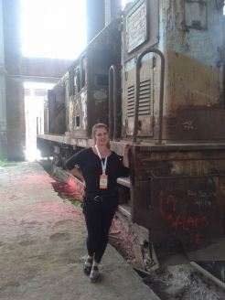 Me and the awesome old train!